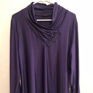 Lily Purple Blouse
